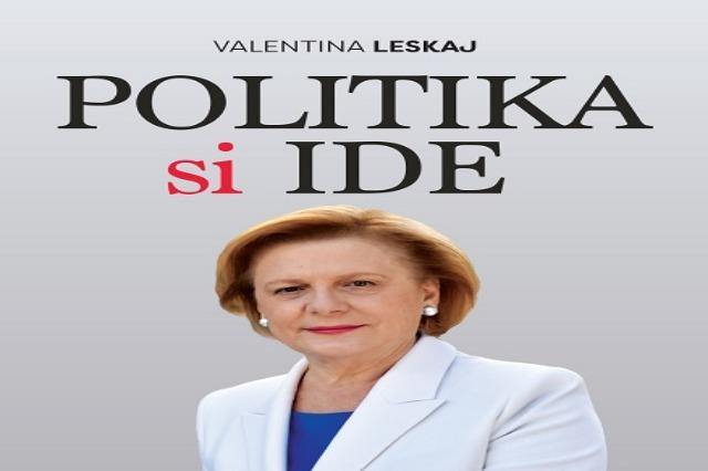 """Valentina Leskaj promovon librin """"Politika si ide"""""""
