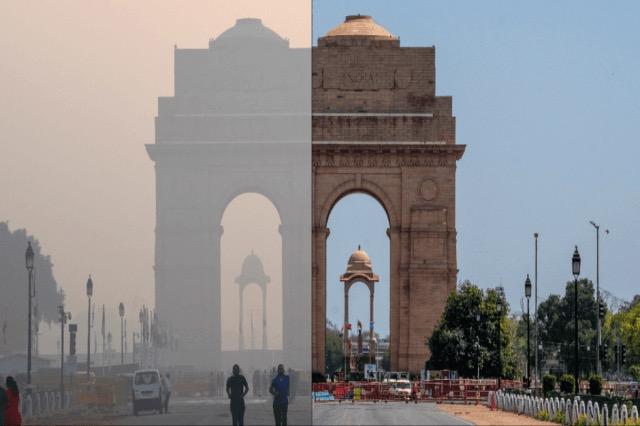 Para dhe pas: Pandemia pastron ajrin