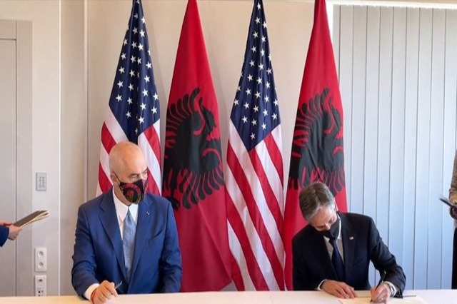 Marrëveshja që u nënshkrua mes Shqipërisë e SHBA-ve, Blinken-Ramës: Vlerësojmë shumë lidershipin tuaj!