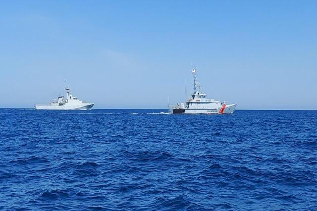 Forca Detare shqiptare dhe Marina Mbretërore Britanike, stërvitje dypalëshe