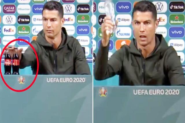 """Fansat """"hapin arkivat"""", publikojnë fotografitë kur Cristiano Ronaldo ishte imazh i Coca Cola-s"""