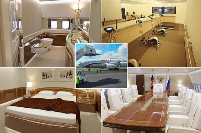 FOTOT/ Brenda avionit 390 milionë paund të presidentit RUS Putin