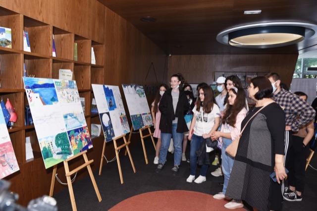 Si e perceptojnë qytetin e tyre ideal nxënësit përmes pikturave?
