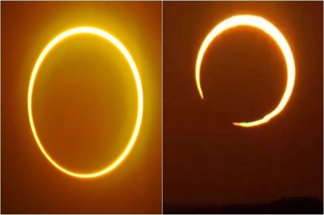 "Eklipsi diellor ""unaza e zjarrit"" nesër shfaqet në qiell"