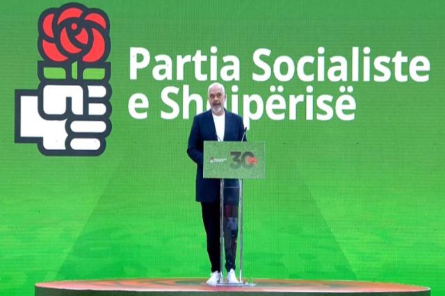 Kongresi i PS-së, kryeministri Rama prezanton pikat kryesore të mandatit të tretë