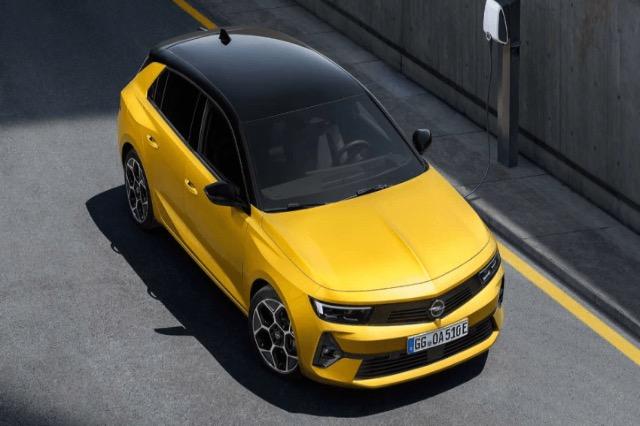 Ja si do të duket Opel Astra GSi