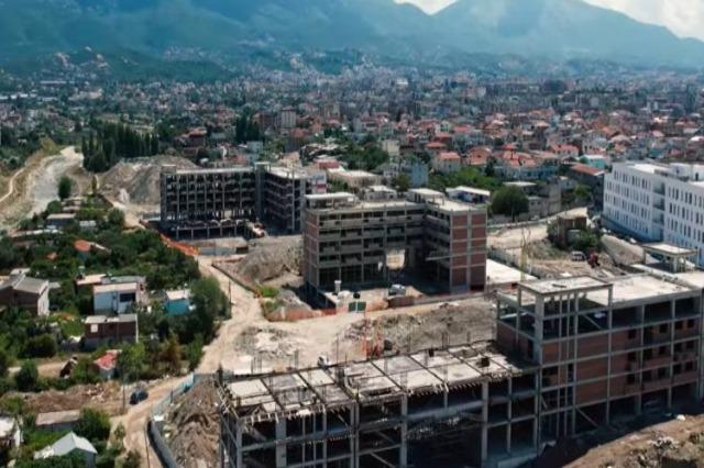 """Lagjja """"5 Maji"""" në Tiranë, punime me ritme të larta për ndërtimin e 3500 apartamenteve"""