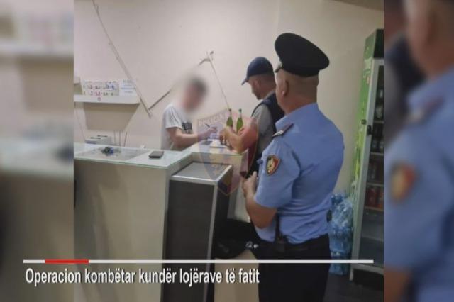 Operacion kundër lojrave të jashtëligjshme të fatit, arrestohen 35 persona