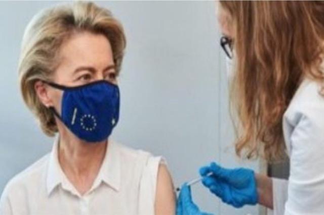 Pandemia, Von der Leyen: Gjysma e të rriturve në BE janë vaksinuar