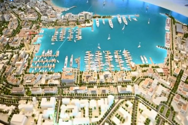 Rama publikon maketin e përfunduar nga Emaar Group, ja si do të transformohet Porti i Durrësit
