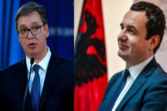 Kurti-Vuçiç takim në Bruksel