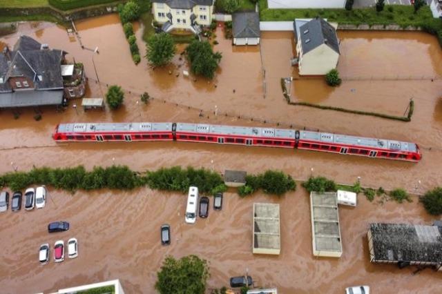 Hekurudha gjermane: Përmbytjet shkaktuan 1.3 miliardë euro dëme në rrjet