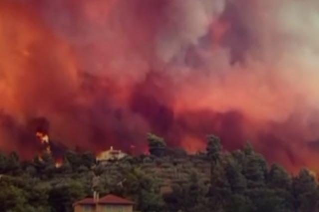 Greqi, rindezje të pafundme zjarresh në Evia
