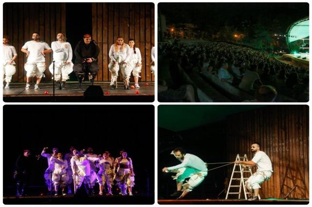 """Shfaqja """"Ferma e kafshëve"""" mbush teatrin """"Aleksandër Moisiu"""" në Durrës"""