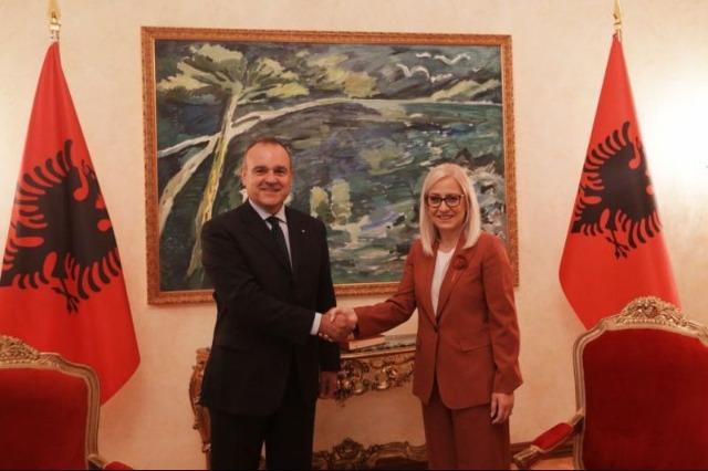 Nikolla takon Shefin e Prezencës së OSBE-së, Del Monaco: Frymë të re bashkëpunimi në Kuvend, për kryerjen e reformave