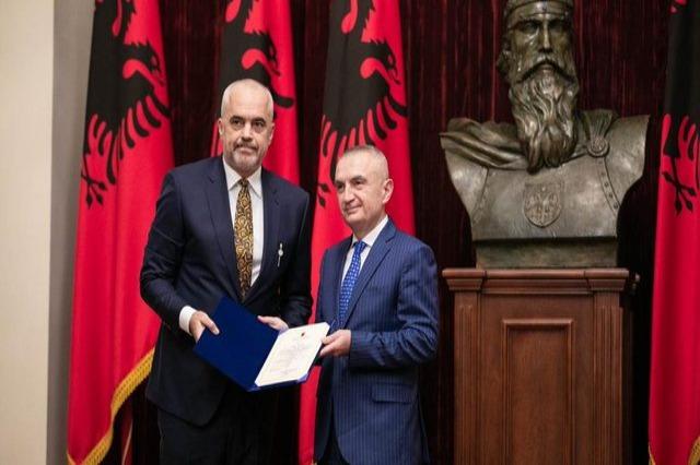 """Presidenti Ilir Meta, dekreton qeverinë """"Rama 3"""""""