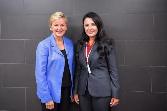 Balluku, takim me Sekretaren e Departamentit Amerikan të Energjisë, Jennifer Granholm