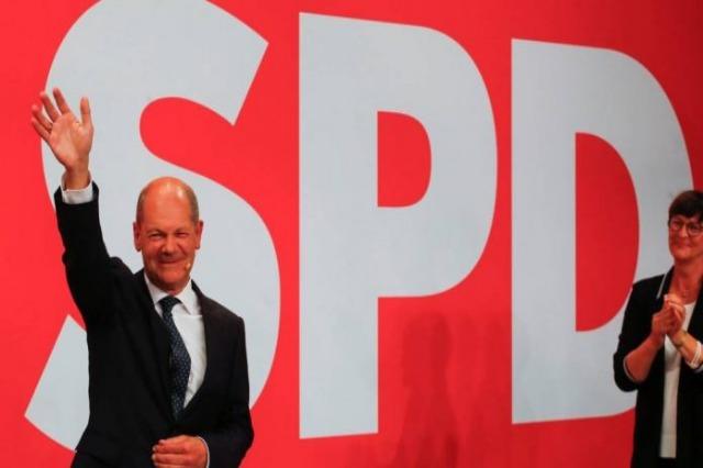 Gjermani, Social-Demokratët fitojnë zgjedhjet parlamentare