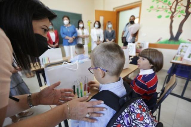 """Ecuria e mësimit plotësues, Kushi vizitë në shkollën 9-vjeçare """"Bardhyl Popa"""""""