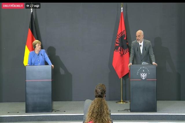 Rama: Pa Merkelin Europa e Ballkani nuk do ishin siç janë sot!