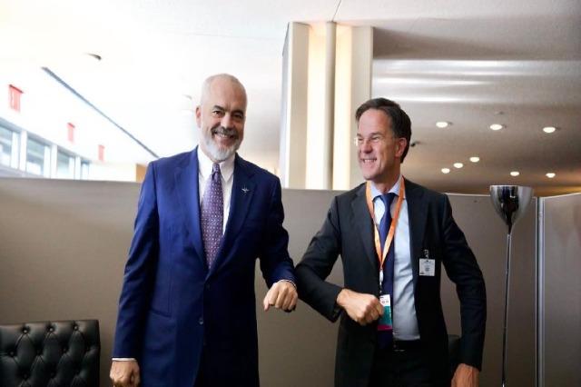 Kryeministri holandez më 10 nëntor në Shqipëri, Rama: Do rikonfirmojë mbështetjen për hapjen e negociatave