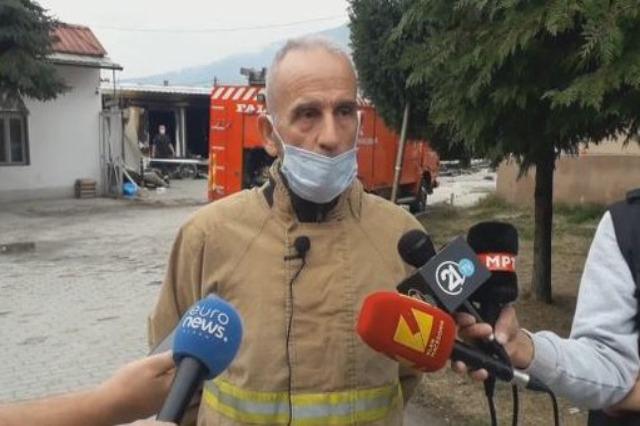 Zjarri në spitalin e Tetovës nga shpërthimi i një bombole me oksigjen