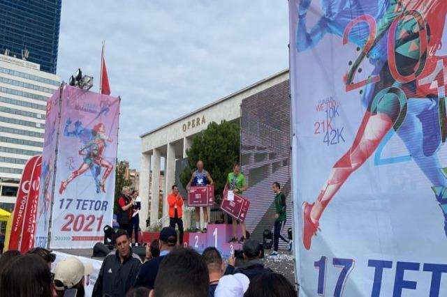 Shpallen fituesit e edicionit të pestë të Maratonës së Tiranës