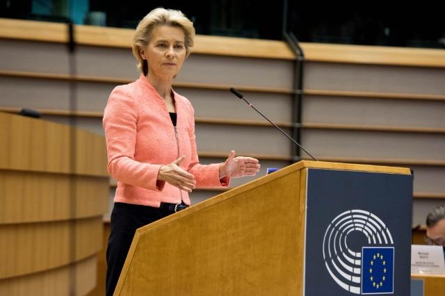 Von der Leyen: BE-ja nuk do të financojë barriera kundër migrantëve