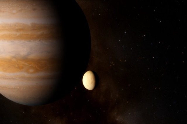 Astronomët kanë pikasur avujt e ujit në një nga hënat e Jupiterit