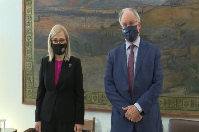 Kryeparlamentarja Nikolla vizitë në Greqi, takon homologun: Kemi marrë mbështetjen për integrimin