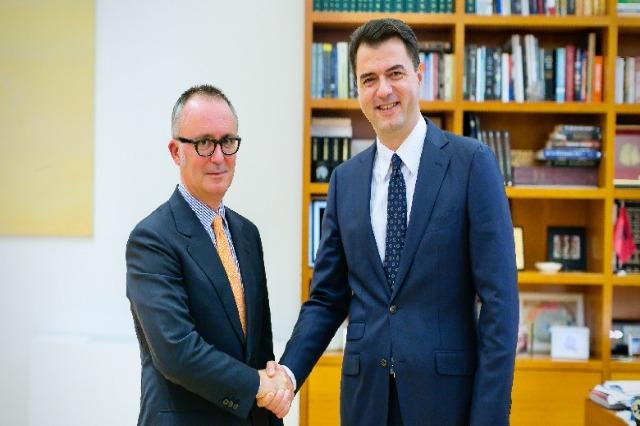 Kreu i PD Basha, takon ambasadorin e Italisë në Tiranë, Fabrizio Bucci