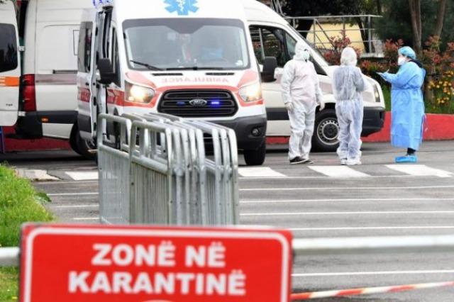Covid në Shqipëri/ 8 viktima, 594 të infektuar në 24 orët e fundit