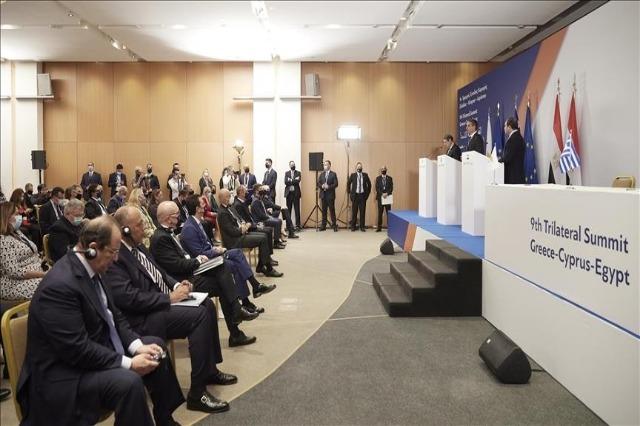Greqia, Egjipti dhe Qiproja greke përsërisin angazhimin e tyre për aleancën trepalëshe