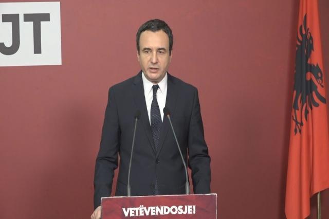 Incidentet e fundit, Kurti pranon se nuk do të ketë një takim me Vuçiç