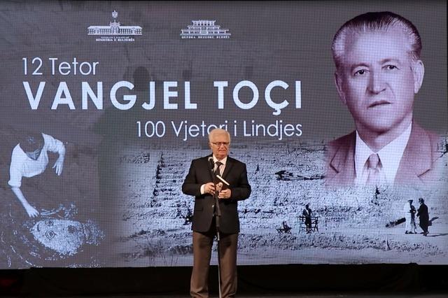 100 vjetori i Vangjel Toçit. Personalitet i arkeologjisë, historisë dhe kulturës shqiptare