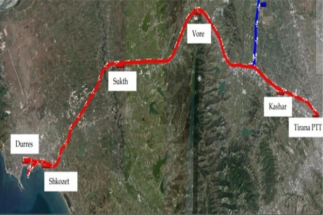 Hekurudha Tiranë-Rinas-Durrës, do të ndërtohet nga kompania italiane INC S.P.A