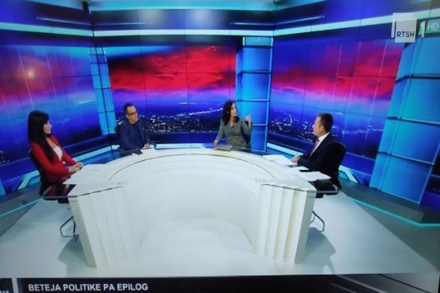 """""""JAVA"""" në RTSH1- HD/ Ministrja Spiropali: Basha nuk është marrë peng nga PS, por nga Berisha dhe Meta"""