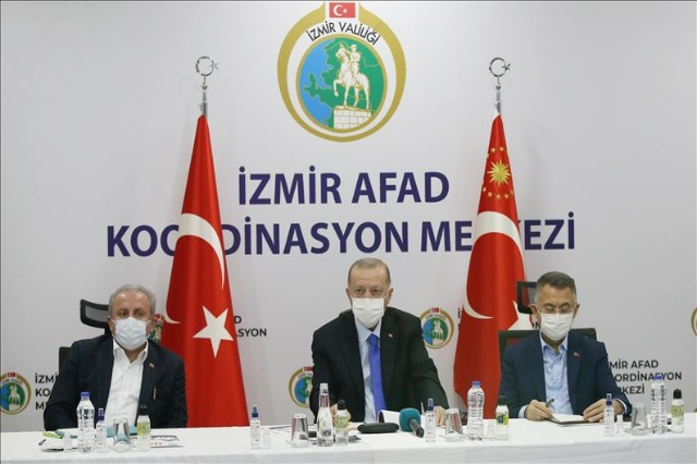 Erdoğan bën bilancin e pasojave nga tërmeti