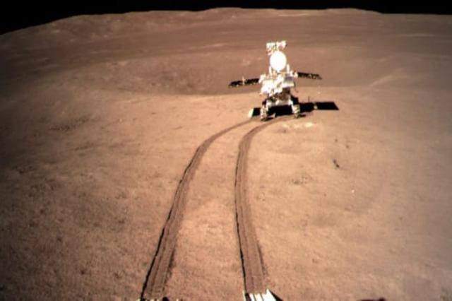 Mjeti i hulumtimit hënor ecën 565.9 m në anën e pasme të Hënës