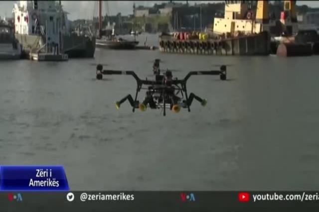 Dronë dhe anije që mund të riparojnë turbina dhe pastrojnë oqeane